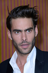 Jon Kortajarena attending a ribbon cutting ceremony of a Bulgari pop-up store at the Galleries Lafayette department store as part of 2017/18 Fall Winter Haute Couture Fashionweek in Paris, France on July 04, 2017. Photo by Aurore Marechal/ABACAPRESS.COM