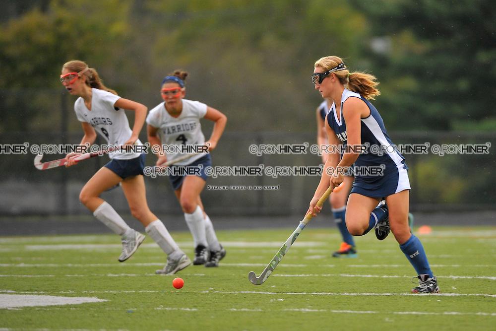 Staples High School Field Hockey..Wilton defeats Staples 3-2..Emily Ashken (SR)(C)