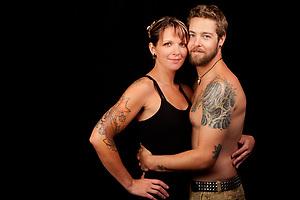 Jeremy & Dana, Tattoo + You, A Photo Story of Body Ink