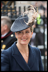 March 12, 2018 - London, London, United Kingdom - Image licensed to i-Images Picture Agency. 12/03/2018. London, United Kingdom. Countess of Wessex  arriving at the  Commonwealth Day Service at Westminster Abbey in London. (Credit Image: © Stephen Lock/i-Images via ZUMA Press)