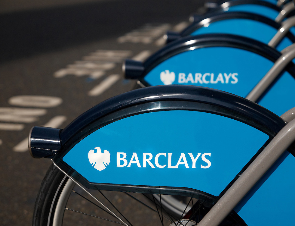 London - Barclays Cycle Hire (Waterloo Place)