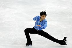 The XXII Winter Olympic Games 2014 in Sotchi, Olympics, Olympische Winterspiele Sotschi 2014<br /> Figure skating men short program in the Sochi 2014 Winter Olympics on February 6, 2014 in Sochi, Russia<br /> Yuzuru HANYU (JPN)