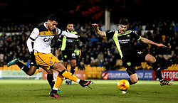 Anton Forrester of Port Vale shoots at goal - Mandatory by-line: Robbie Stephenson/JMP - 20/01/2017 - FOOTBALL - Vale Park - Stoke-on-Trent, England - Port Vale v Bury - Sky Bet League One