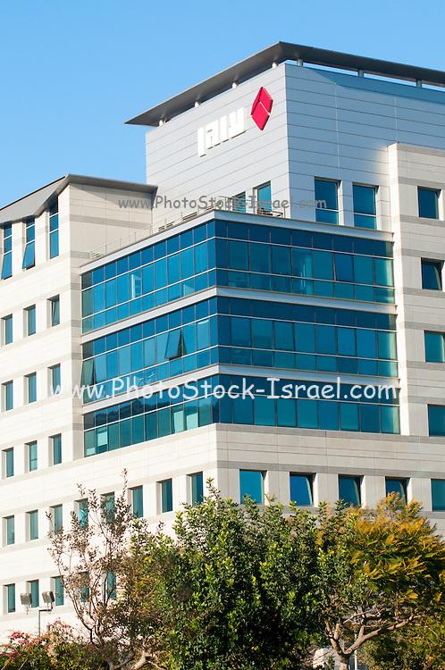 OGEN logo on the offices in Ramat HaHayal, Tel Aviv, Israel