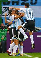 Fotball<br /> VM 2006<br /> Foto: Witters/Digitalsport<br /> NORWAY ONLY<br /> <br /> 10.06.2006<br /> Argentina v Elfenbenskysten<br /> <br /> 1:0 Jubel Argentinien, Torschuetze Hernan Crespo<br /> Fussball WM 2006 Argentinien - Elfenbeinkueste