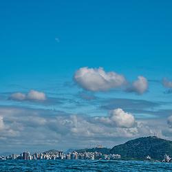 Vitória (cidade) fotografado em Vitória, capital do Espírito Santo, Sudeste do Brasil. Oceano Atlântico. Registro feito em 2019.<br /> ⠀<br /> ⠀<br /> <br /> <br /> <br /> <br /> ENGLISH: Vitória-ES city photographed in Vitória, Capital of Espírito Santo - Southeast of Brazil. Atlantic Ocean. Picture made in 2019.