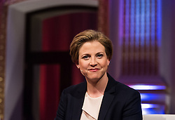 05.10.2015, Sofiensäle, Wien, AUT, ORF-Puls4 TV-Konfrontation, Elefantenrunde zur Wien-Wahl 2015, im Bild Spitzenkandidatin der NEOS Beate Meinl-Reisinger // before Television confrontation beetwen Topcandidates for viennese state elcetion at Sofiensäle in Vienna, Austria on 2015/10/05, EXPA Pictures © 2015, PhotoCredit: EXPA/ Michael Gruber