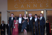 The cast at the gala screening for the film The Unknown Girl (La Fille Inconnue) at the 69th Cannes Film Festival, Wednesday 18th May 2016, Cannes, France. Photography: Doreen Kennedy