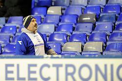 Birmingham City fans - Photo mandatory by-line: Dougie Allward/JMP - Tel: Mobile: 07966 386802 18/01/2014 - SPORT - FOOTBALL - St Andrew's Stadium - Birmingham - Birmingham City v Yeovil Town - Sky Bet Championship