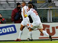 "dopo gol Julio Cesar Baptista (Roma)<br /> Torino 18/01/2009 Stadio ""Olimpico"" <br /> Campionato Seria A Tim 2008/2009<br /> Torino-Roma  (0-1)<br /> Foto Bigio Insidefoto"