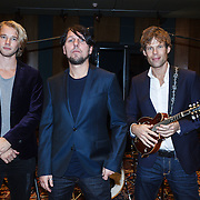 NLD/Hilversum/20131107 - CD presentatie 3J's ,Jan Dulles, Jaap Kwakman, Jan de Witte