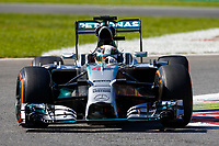 HAMILTON Lewis (Gbr) Mercedes Gp Mgp W05 Action  during the 2014 Formula One World Championship, Italy Grand Prix from September 5th to 7th 2014 in Monza, Italy. Photo Florent Gooden / DPPI