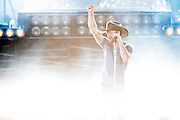 Tim McGraw performs at Gexa Energy Pavilion in Dallas, Texas on June 6, 2015.