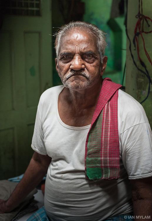 Street portrait - Chandni Chowk, Old Delhi, India