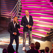 NLD/Aalsmeer/20150509 - Opname Nederland Muziekland, Lange Frans Frederiks en Michael Brian
