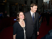 ESTHER FREUD AND DAVID MORRISEY, The Galaxy British Book Awards hosted by Richard Madeley and Judy Finigan. Grosvenor House. Park Lane. London. 9 April 2008. *** Local Caption *** -DO NOT ARCHIVE-© Copyright Photograph by Dafydd Jones. 248 Clapham Rd. London SW9 0PZ. Tel 0207 820 0771. www.dafjones.com.