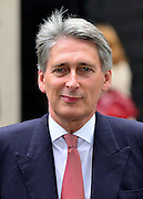 © Licensed to London News Pictures. 18/09/2012. Westinster, UK Defence Secretary Philip Hammond makes a statement to the media after the cabinet meeting today in Downing Street 18 September 2012. Photo credit : Stephen Simpson/LNP