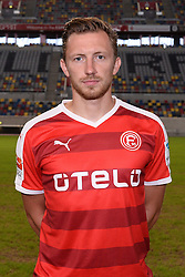 02.07.2015, Esprit Arena, Duesseldorf, GER, 2. FBL, Fortuna Duesseldorf, Fototermin, im Bild Adam Bodzek ( Fortuna Duesseldorf / Portrait ) // during the official Team and Portrait Photoshoot of German 2nd Bundesliga Club Fortuna Duesseldorf at the Esprit Arena in Duesseldorf, Germany on 2015/07/02. EXPA Pictures © 2015, PhotoCredit: EXPA/ Eibner-Pressefoto/ Thienel<br /> <br /> *****ATTENTION - OUT of GER*****