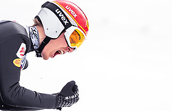 02.03.2019, Seefeld, AUT, FIS Weltmeisterschaften Ski Nordisch, Seefeld 2019, Nordische Kombination, Team Sprung, im Bild Franz-Josef Rehrl (AUT) // Franz-Josef Rehrl of Austria during the Team Jumping competition for Nordic Combined of FIS Nordic Ski World Championships 2019. Seefeld, Austria on 2019/03/02. EXPA Pictures © 2019, PhotoCredit: EXPA/ JFK