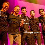 NLD/Amsterdam/20190919 - Premiere Show Johnny de Mol, Johnny de Mol met zijn band