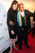 28 April 2011- New York,  NY-  Jane Rosenthal and Quincy Jones at The Tribeca Film Institute's 8th Annual Tribeca All Access (TAA) Legacy Celebration honoring Quincy Jones and held at Hiro Ballroom on April 28, 2011 in New York City.Photo Credit: Terrence Jennings