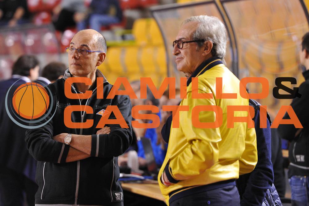 DESCRIZIONE : Roma LNP A2 2015-16 Acea Virtus Roma Assigeco Casalpusterlengo<br /> GIOCATORE : Attilio Caja<br /> CATEGORIA : allenatore coach pre game<br /> SQUADRA : Acea Virtus Roma<br /> EVENTO : Campionato LNP A2 2015-2016<br /> GARA : Acea Virtus Roma Assigeco Casalpusterlengo<br /> DATA : 01/11/2015<br /> SPORT : Pallacanestro <br /> AUTORE : Agenzia Ciamillo-Castoria/G.Masi<br /> Galleria : LNP A2 2015-2016<br /> Fotonotizia : Roma LNP A2 2015-16 Acea Virtus Roma Assigeco Casalpusterlengo