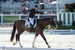 Elizabeth Sobecki, (AUS), Hatero de PB - Team Competition Grade III Para Dressage - Alltech FEI World Equestrian Games™ 2014 - Normandy, France.<br /> © Hippo Foto Team - Jon Stroud <br /> 25/06/14