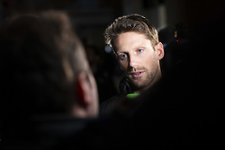 February 18, 2019 - Barcelona, Spain - GROSJEAN Romain (fra), Haas F1 Team VF-19 Ferrari, portrait during Formula 1 winter tests from February 18 to 21, 2019 at Barcelona, Spain - Photo Motorsports: FIA Formula One World Championship 2019, Test in Barcelona, (Credit Image: © Hoch Zwei via ZUMA Wire)