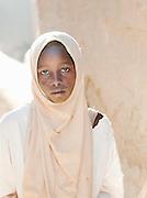 A girl from the local Koranic school in Djenné, Mali