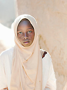 A girl from the local Koranic school in Djenné, Mali