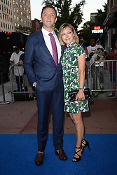 August 16, 2017 - New York, NY, USA - August 16, 2017  New York City..Peter Serafinowicz and Sarah Alexander attending the 'The Tick' TV show premiere on August 16, 2017 in New York City. (Credit Image: © Kristin Callahan/Ace Pictures via ZUMA Press)