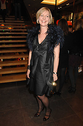Mulberry's chief operating officer LISA MONTAGUE at a party hosted by Mulberry to celebrate the publication of The Meaning of Sunglasses by Hadley Freeman held at Mulberry 41-42 New Bond Street, London on 14th February 2008.<br /><br />NON EXCLUSIVE - WORLD RIGHTS