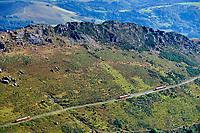 France, Pyrénées-Atlantiques (64), Pays Basque, Ascain, la Rhune, le train de la Rhune, petit train à crémaillère // France, Pyrénées-Atlantiques (64), Basque Country, Ascain, La Rhune, the Rhune train, small cog train