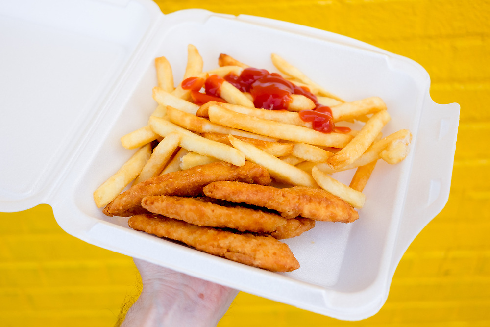 Chicken Tenders at Tom's Restaurant, Coney Island ($11.00) - ICP Edustaycation