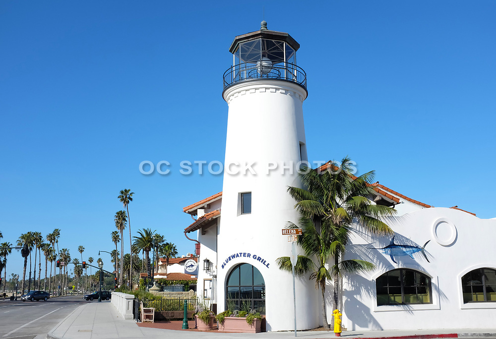 The Bluewater Grill Restaurant at State Street and Cabrillo Boulevard