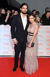 Jamie Jewitt and Camilla Thurlow attending the National Television Awards 2018 held at the O2, London. Photo credit should read: Doug Peters/EMPICS Entertainment