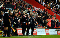 Photo: Alan Crowhurst.<br />Charlton Athletic v Aston Villa. The Barclays Premiership. 30/12/2006. Charlton coach Alan Pardew enjoys the late winner.