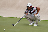 Pablo Larrazabal (ESP) on the 1st during Round 1 of the Oman Open 2020 at the Al Mouj Golf Club, Muscat, Oman . 27/02/2020<br /> Picture: Golffile   Thos Caffrey<br /> <br /> <br /> All photo usage must carry mandatory copyright credit (© Golffile   Thos Caffrey)