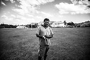 NOUVELLE CALEDONIE,  Arama  - Portrait de Luc Gubert Dima TCHOVANILI -  Aire Coutumiere de Hoot Ma Waap, region de POUM - Aout 2013