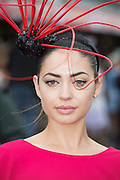 30/07/2015 report free : Winners Announced in Kilkenny Best Dressed Lady, Kilkenny Best Irish Design & Kilkenny Best Hat Competition at Galway Races Ladies Day <br /> At the event was Rosalynd Hurley, Blackrock Cork.<br /> Photo:Andrew Downes, xposure