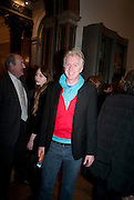 PHILIP TREACY, Opening of David Hockney ' A Bigger Picture' Royal Academy. Piccadilly. London. 17 January 2012