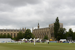 A general view of the Cheltenham Cricket festival during the Gloucestershire v Northamptonshire LV=County Championship division 2 Game - Photo mandatory by-line: Dougie Allward/JMP - Mobile: 07966 386802 - 08/07/2015 - SPORT - Cricket - Cheltenham - Cheltenham College - LV=County Championship 2