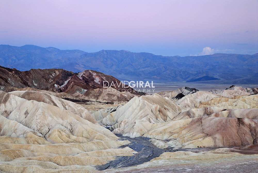 Zabriskie Point dawn, Death Valley National Park, California