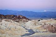 Zabriskie Point dawn, Death Valley National Park, California