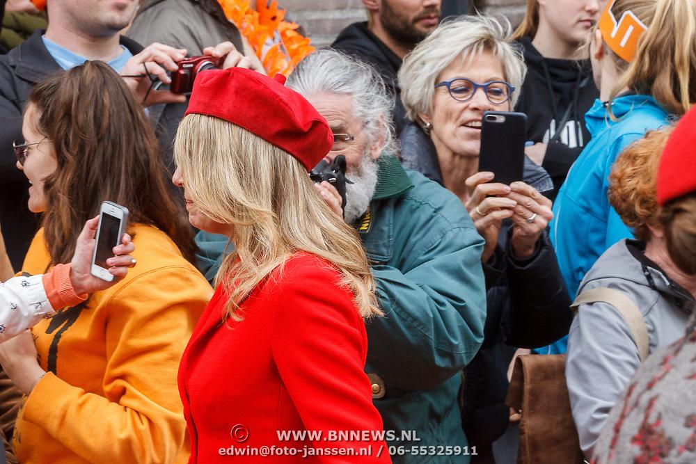 NLD/Groningen/20180427 - Koningsdag Groningen 2018, Maxima