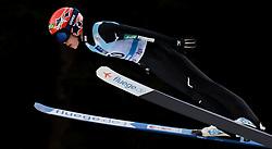 February 7, 2019 - Ljubno, Savinjska, Slovenia - Yuki Ito of Japan competes on qualification day of the FIS Ski Jumping World Cup Ladies Ljubno on February 7, 2019 in Ljubno, Slovenia. (Credit Image: © Rok Rakun/Pacific Press via ZUMA Wire)