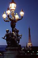 Sculptures near Eiffel Tower