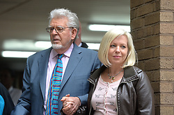 Rolf Harris and his daughter Bindi Nicholls  leave Southwark Crown Court, London, UK.<br /> Monday, 2nd June 2014. Picture by Ben Stevens / i-Images