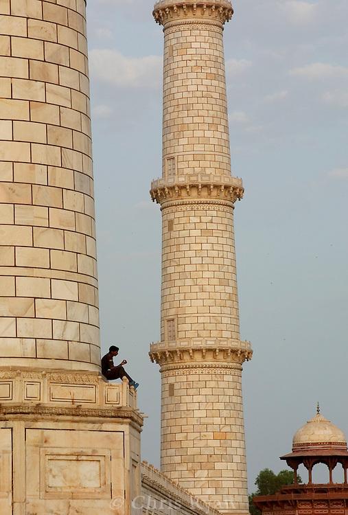Lunch break, Taj Mahal, India