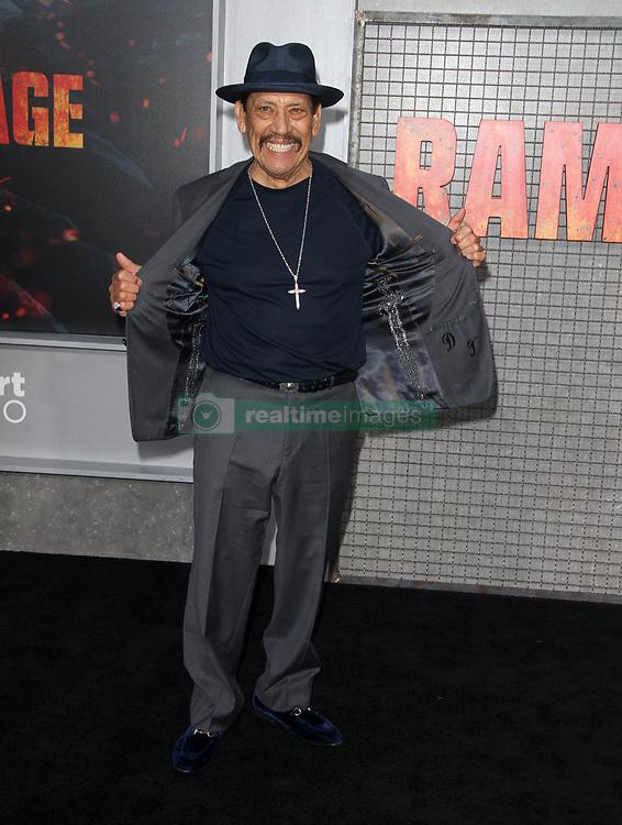 Rampage Premiere at The Microsoft Theatre in Los Angeles, California on 4/4/18. 04 Apr 2018 Pictured: Danny Trejo. Photo credit: River / MEGA TheMegaAgency.com +1 888 505 6342